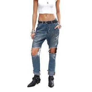 NWT One Teaspoon calvaries highwaist jeans size 28